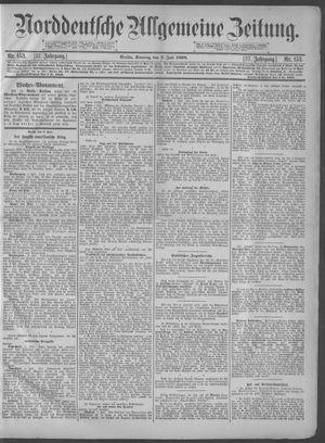 Norddeutsche allgemeine Zeitung on Jul 3, 1898