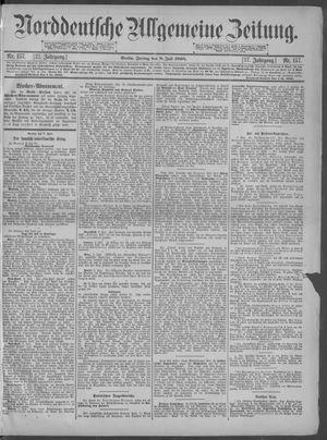 Norddeutsche allgemeine Zeitung vom 08.07.1898