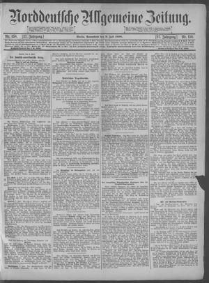 Norddeutsche allgemeine Zeitung vom 09.07.1898