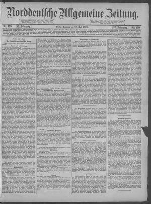 Norddeutsche allgemeine Zeitung vom 10.07.1898