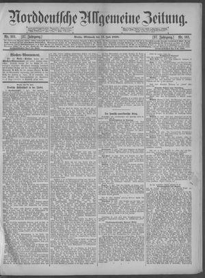 Norddeutsche allgemeine Zeitung on Jul 13, 1898