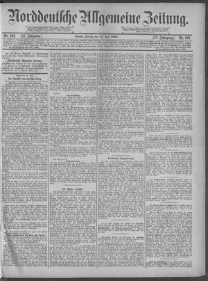 Norddeutsche allgemeine Zeitung vom 15.07.1898