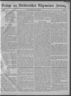 Norddeutsche allgemeine Zeitung vom 04.01.1899