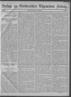Norddeutsche allgemeine Zeitung vom 05.01.1899