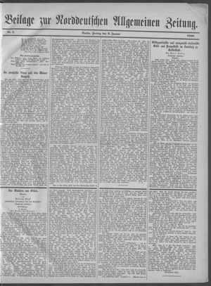 Norddeutsche allgemeine Zeitung vom 06.01.1899