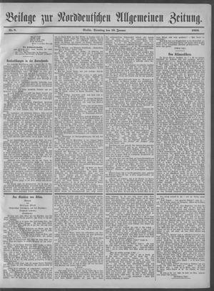 Norddeutsche allgemeine Zeitung vom 10.01.1899