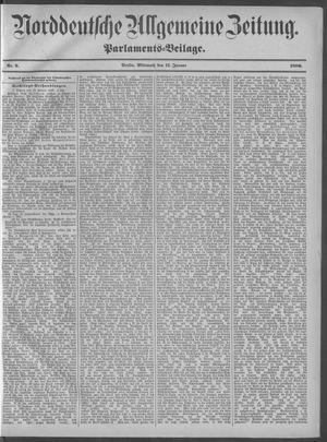 Norddeutsche allgemeine Zeitung vom 11.01.1899
