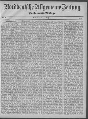 Norddeutsche allgemeine Zeitung vom 12.01.1899