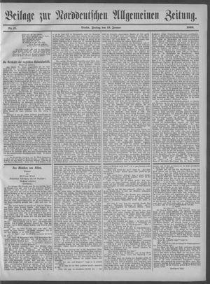 Norddeutsche allgemeine Zeitung on Jan 13, 1899
