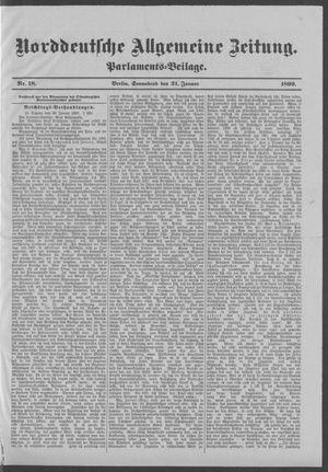 Norddeutsche allgemeine Zeitung vom 21.01.1899