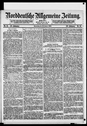 Norddeutsche allgemeine Zeitung on Jan 26, 1899