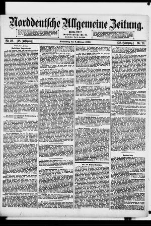 Norddeutsche allgemeine Zeitung vom 02.02.1899