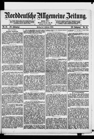 Norddeutsche allgemeine Zeitung vom 03.02.1899