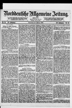 Norddeutsche allgemeine Zeitung vom 09.02.1899