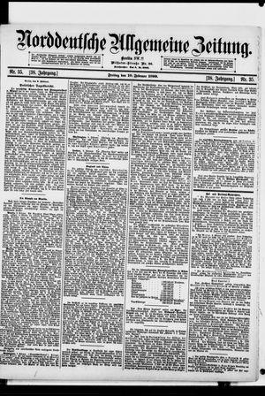 Norddeutsche allgemeine Zeitung vom 10.02.1899