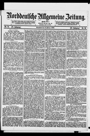 Norddeutsche allgemeine Zeitung vom 11.02.1899