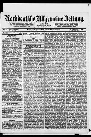 Norddeutsche allgemeine Zeitung vom 12.02.1899