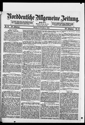 Norddeutsche allgemeine Zeitung vom 28.02.1899