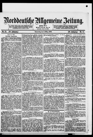 Norddeutsche allgemeine Zeitung vom 02.03.1899