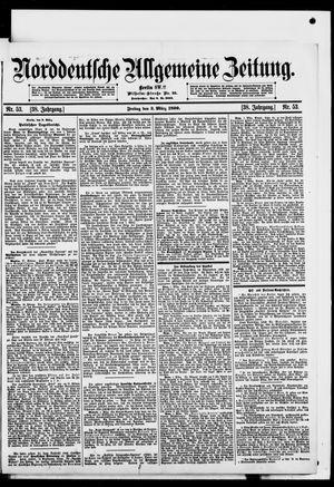 Norddeutsche allgemeine Zeitung on Mar 3, 1899