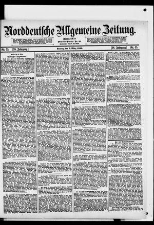 Norddeutsche allgemeine Zeitung vom 05.03.1899