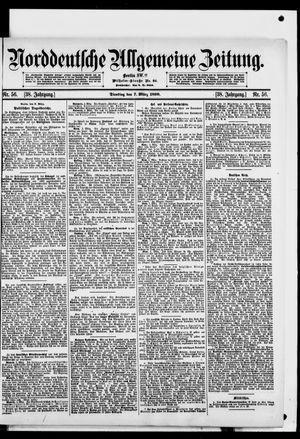 Norddeutsche allgemeine Zeitung vom 07.03.1899