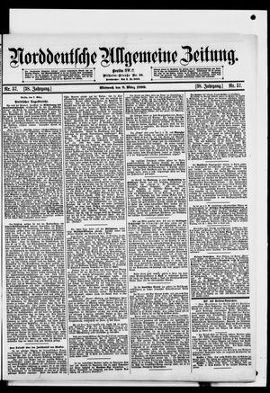 Norddeutsche allgemeine Zeitung vom 08.03.1899