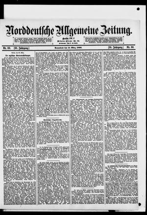 Norddeutsche allgemeine Zeitung vom 11.03.1899