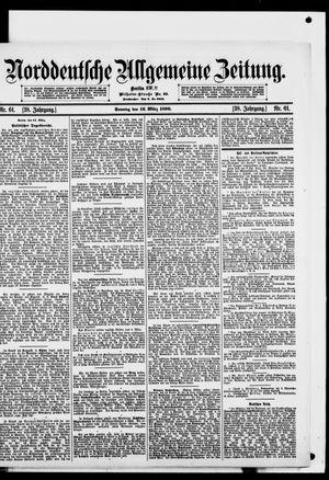 Norddeutsche allgemeine Zeitung vom 12.03.1899