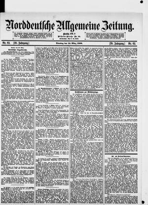 Norddeutsche allgemeine Zeitung vom 14.03.1899
