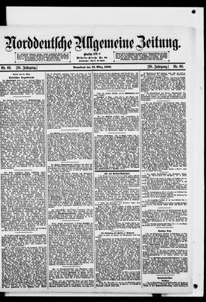 Norddeutsche allgemeine Zeitung on Mar 18, 1899