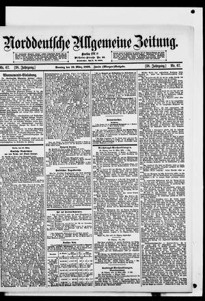 Norddeutsche allgemeine Zeitung on Mar 19, 1899