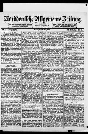 Norddeutsche allgemeine Zeitung vom 28.03.1899