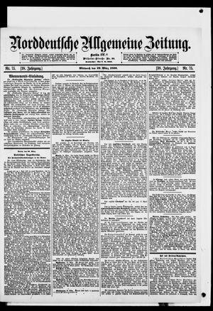 Norddeutsche allgemeine Zeitung vom 29.03.1899
