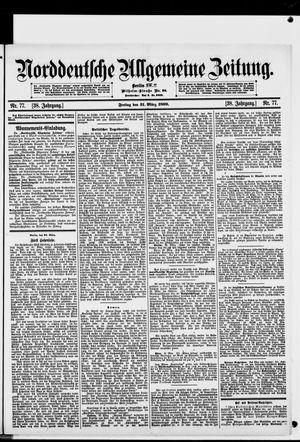 Norddeutsche allgemeine Zeitung vom 31.03.1899
