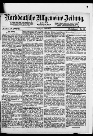Norddeutsche allgemeine Zeitung vom 07.05.1899
