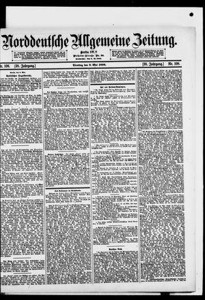 Norddeutsche allgemeine Zeitung vom 09.05.1899