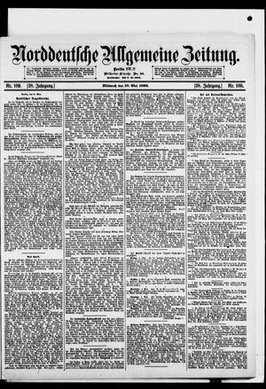 Norddeutsche allgemeine Zeitung vom 10.05.1899