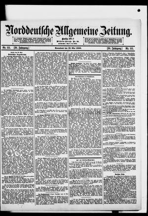 Norddeutsche allgemeine Zeitung vom 13.05.1899