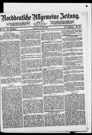 Norddeutsche allgemeine Zeitung vom 14.05.1899