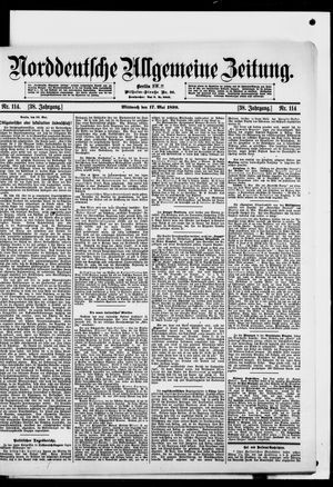 Norddeutsche allgemeine Zeitung vom 17.05.1899