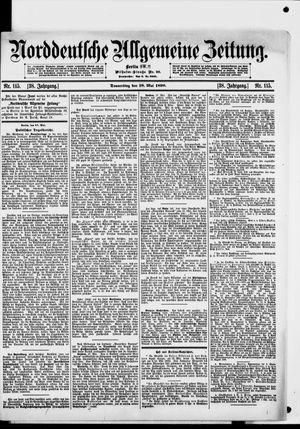 Norddeutsche allgemeine Zeitung vom 18.05.1899