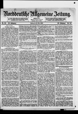 Norddeutsche allgemeine Zeitung vom 19.05.1899