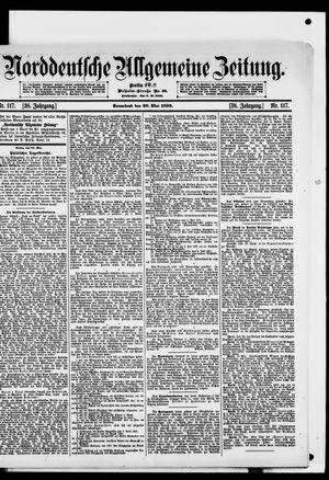 Norddeutsche allgemeine Zeitung vom 20.05.1899