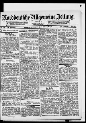 Norddeutsche allgemeine Zeitung vom 21.05.1899