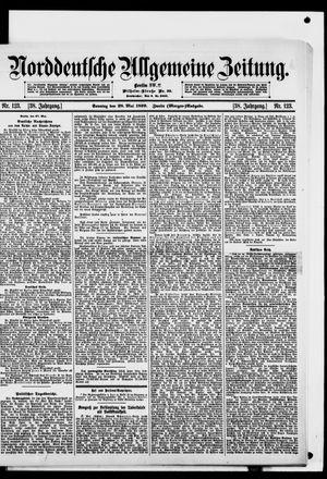 Norddeutsche allgemeine Zeitung vom 28.05.1899