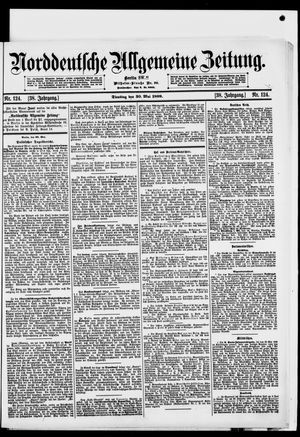 Norddeutsche allgemeine Zeitung on May 30, 1899