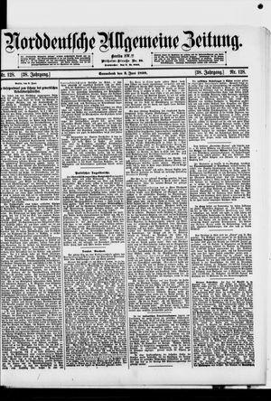 Norddeutsche allgemeine Zeitung vom 03.06.1899