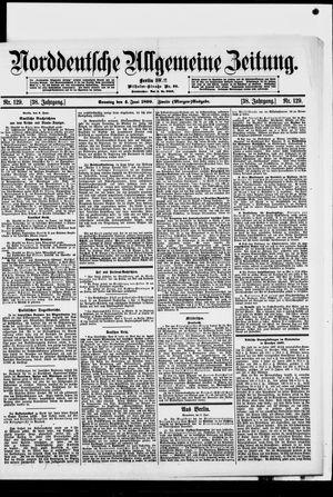 Norddeutsche allgemeine Zeitung vom 04.06.1899
