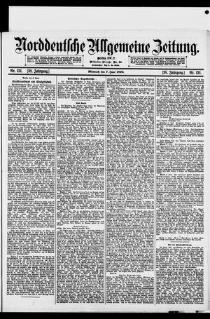 Norddeutsche allgemeine Zeitung vom 07.06.1899